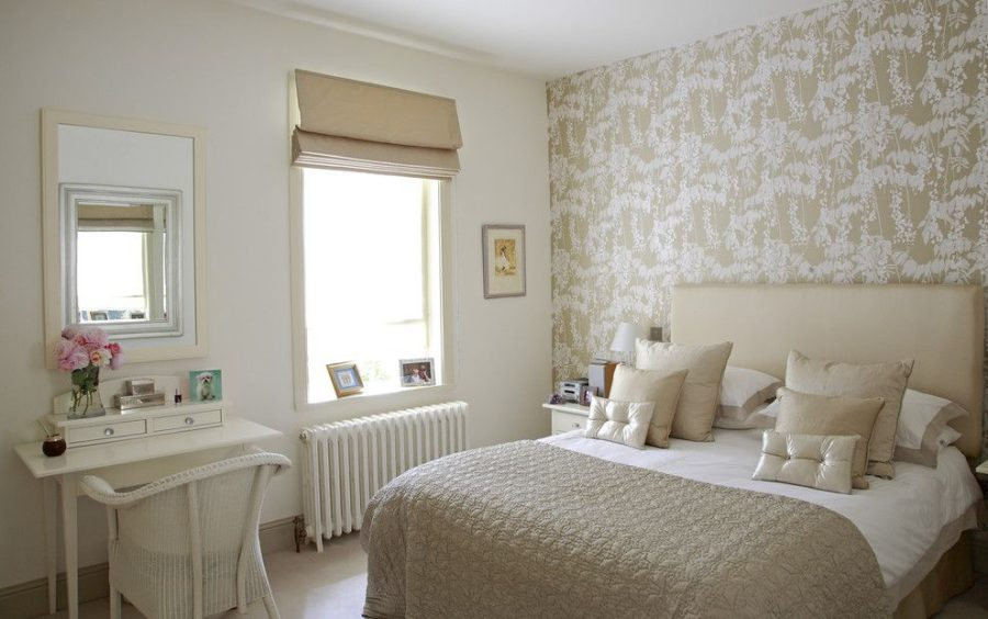 View in gallery Shabby chic French bedroom wallpaper. Fabulous Wallpaper Designs to Transform Any Bedroom