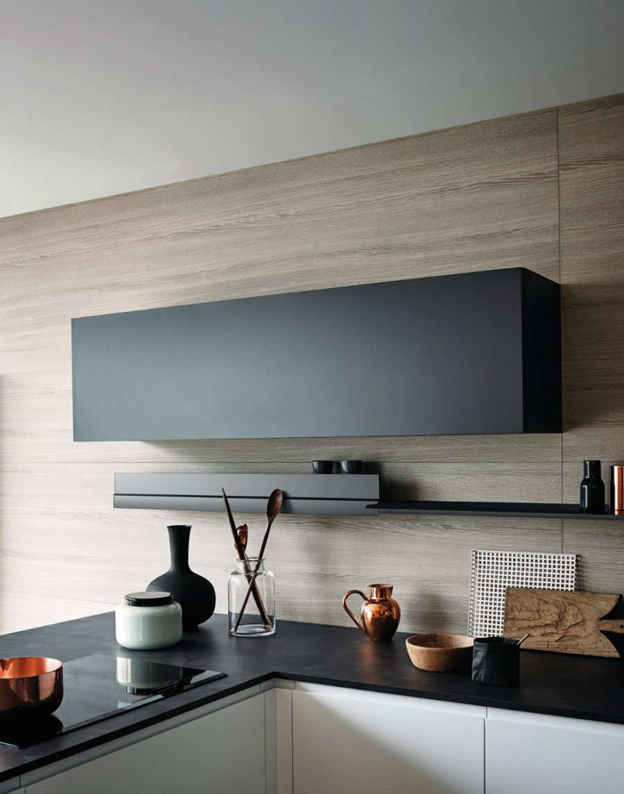 Sleek cabinet shape