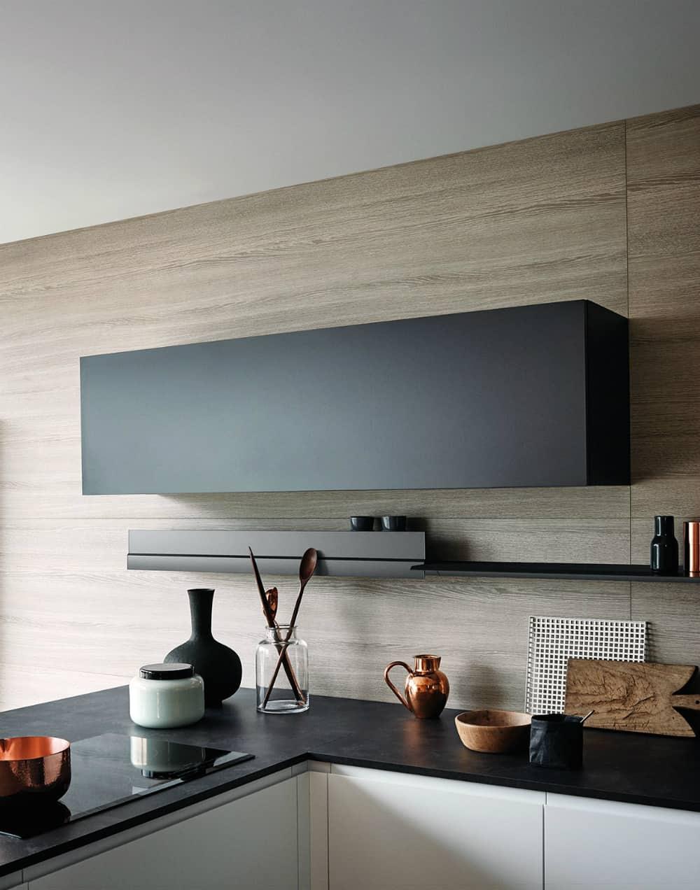 Sleek cabinet shape