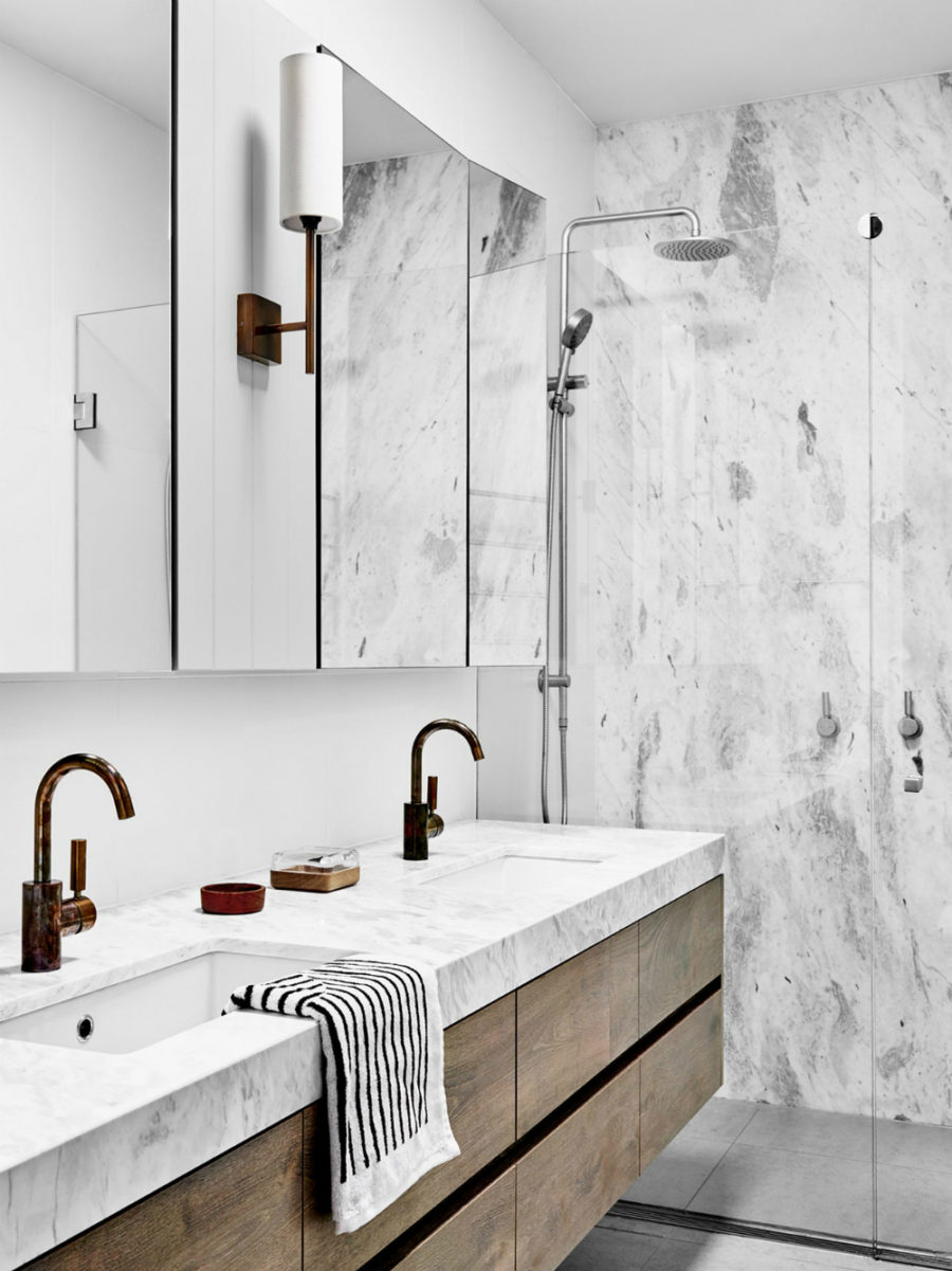 Small bathroom in Hampton Penthouse in London