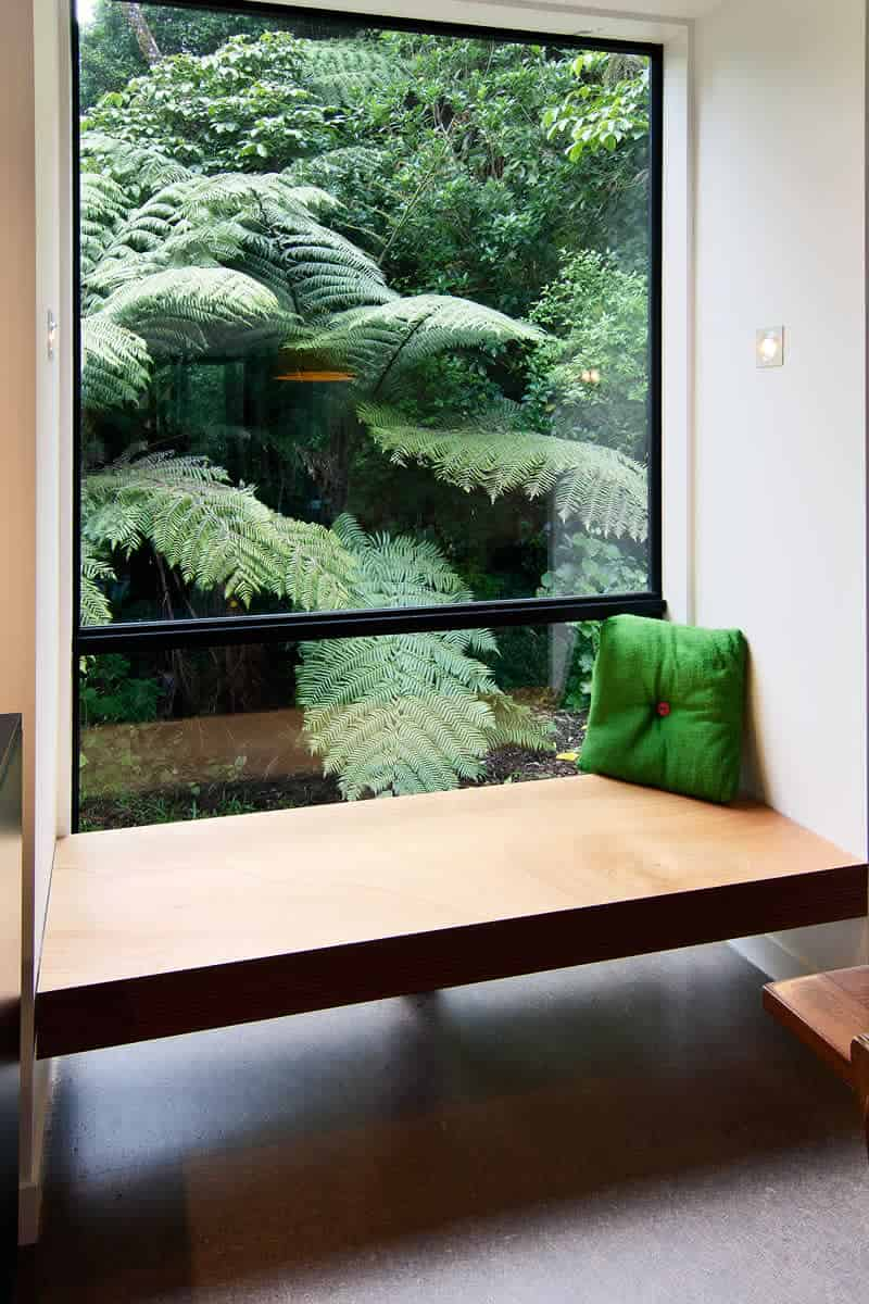 Spectacular window seat