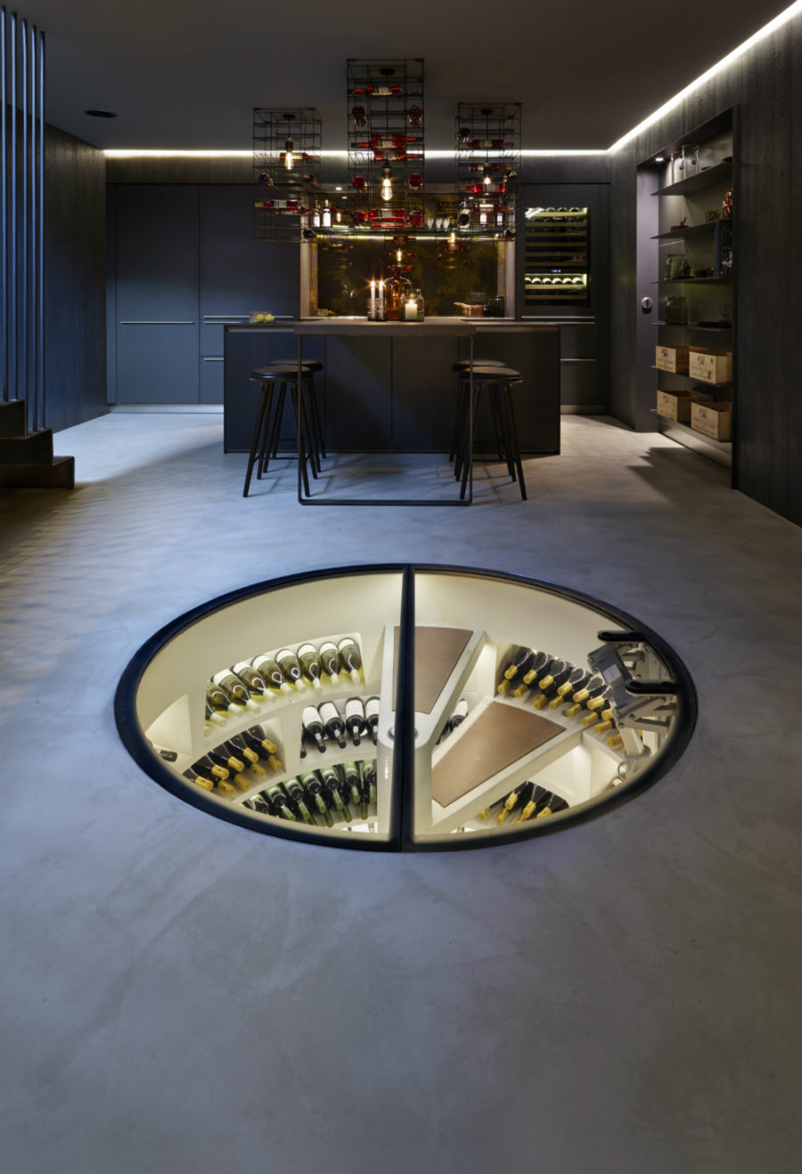 Any Connoisseur S Dream Modern Wine Cellar Designs