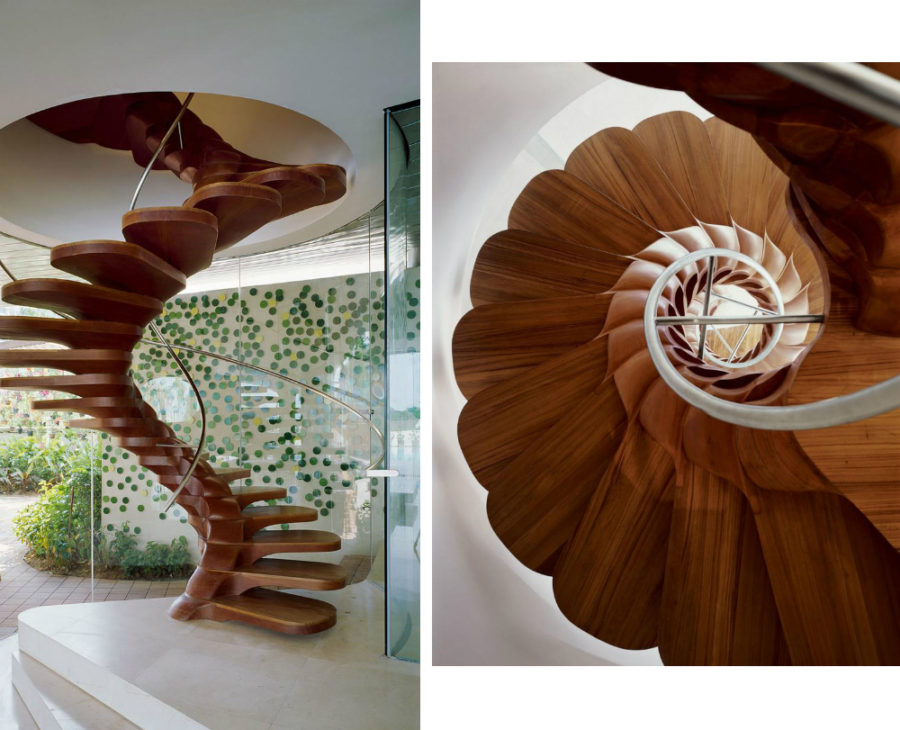 Staircase at Kuala Lumpur Residence