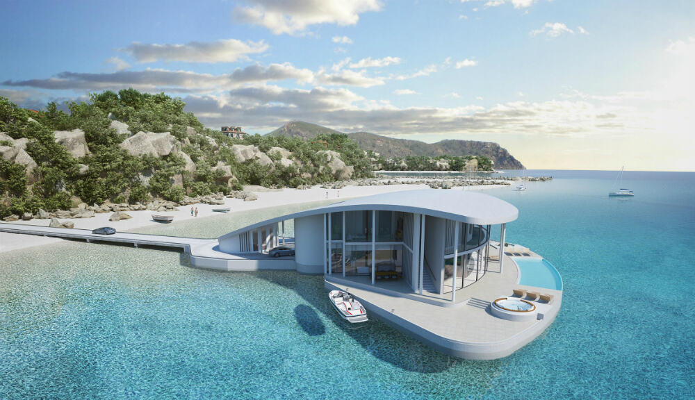 Sting Ray Floating House concept