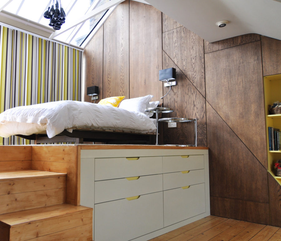Storage under bed - Multipurpose Beds that Maximize Space