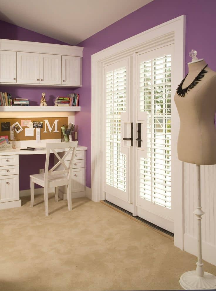 Teen Girl Room Purple