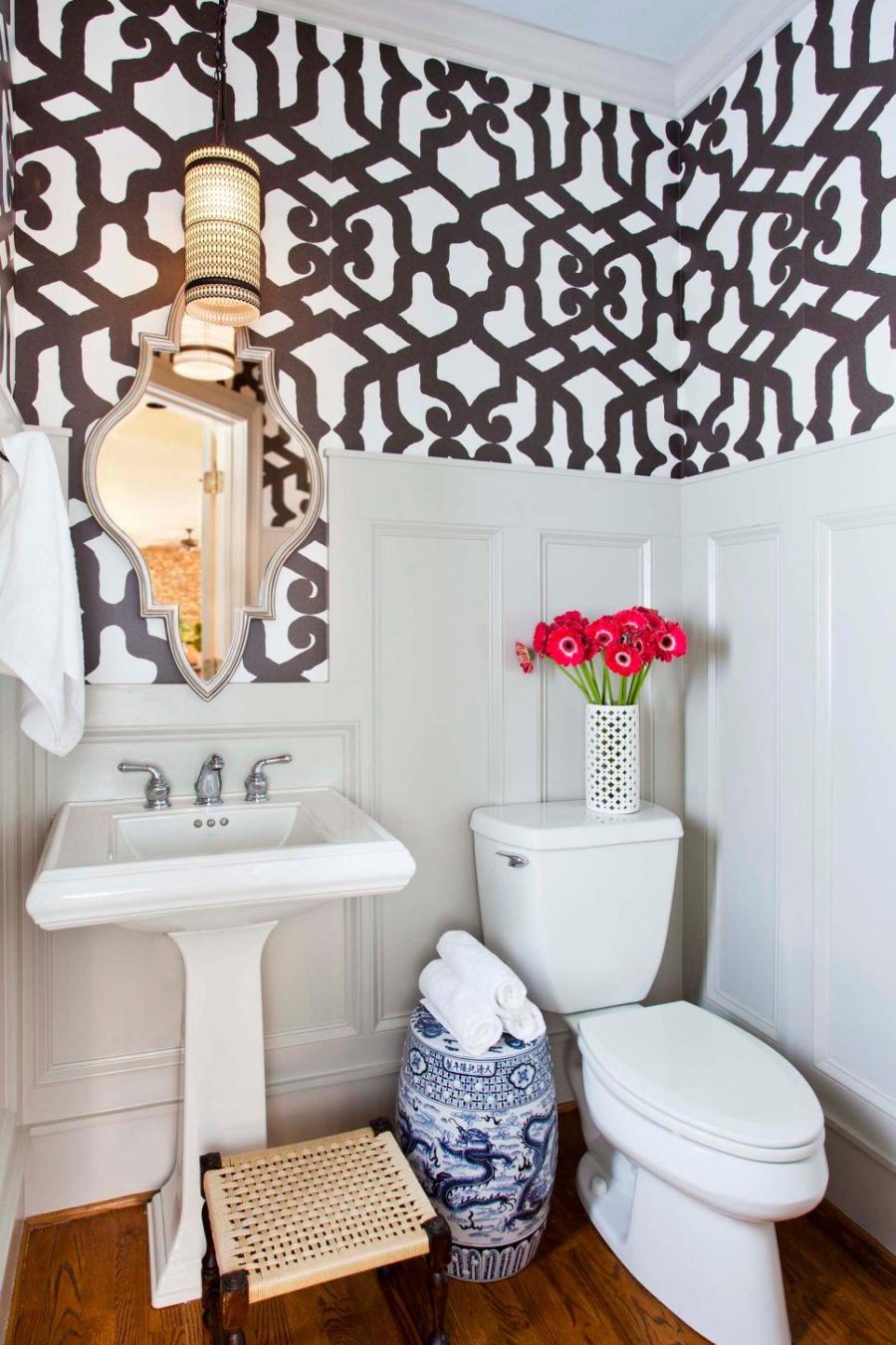 TerraCotta Design Build powder room