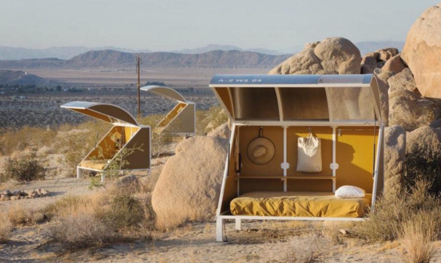 Tiny pod cabins