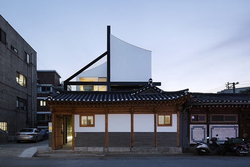 Traditional Korean House extension