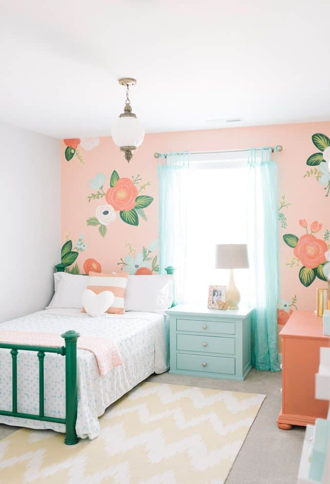 Modern bedroom designs for girls for Chambre unicorn