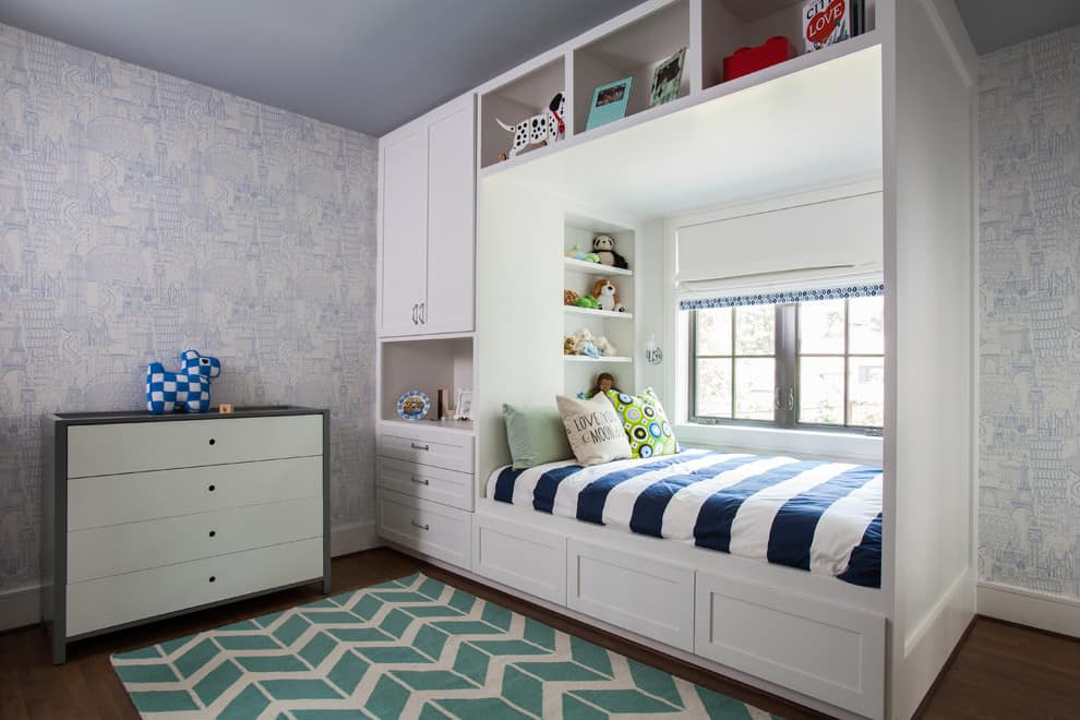 Traditional window bed Multipurpose Beds that Maximize Space