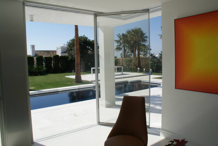 One of Vitrocsa's TH+ Collection patio door designs