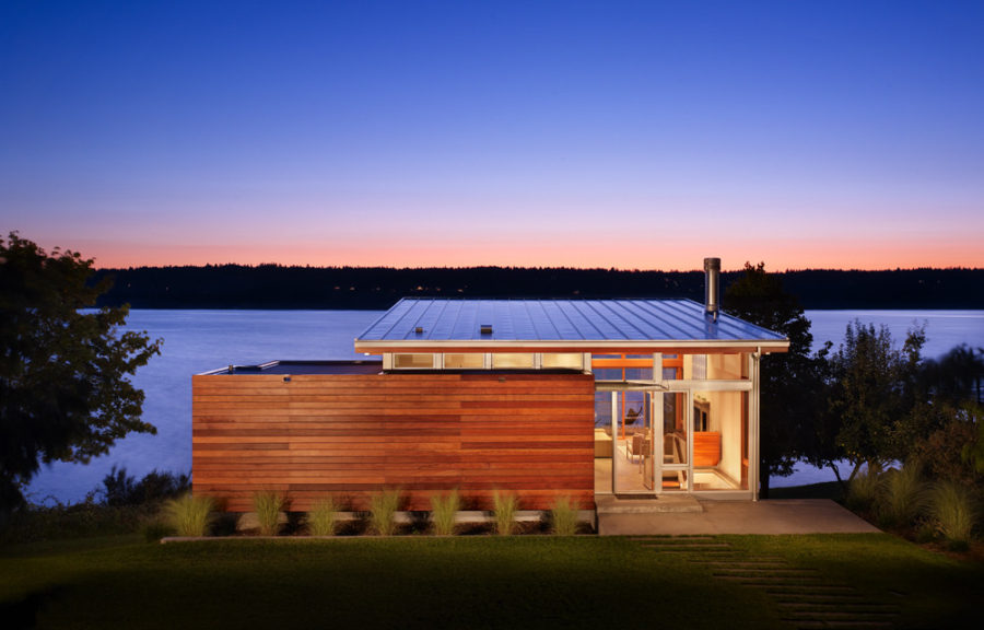 Vashon Cabin by Vandeventer Carlander Architects