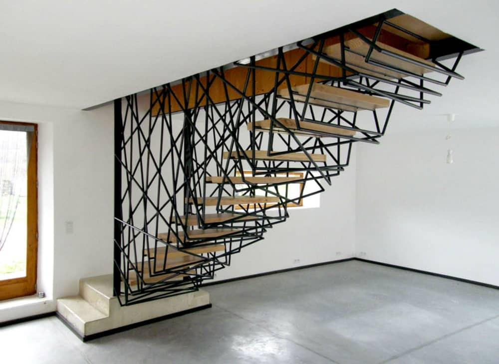 Villa La Roche staircase
