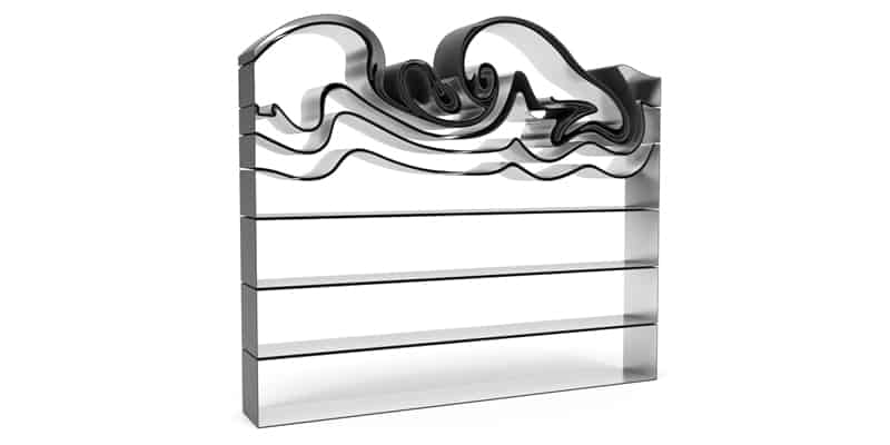 Vortex bookshelf