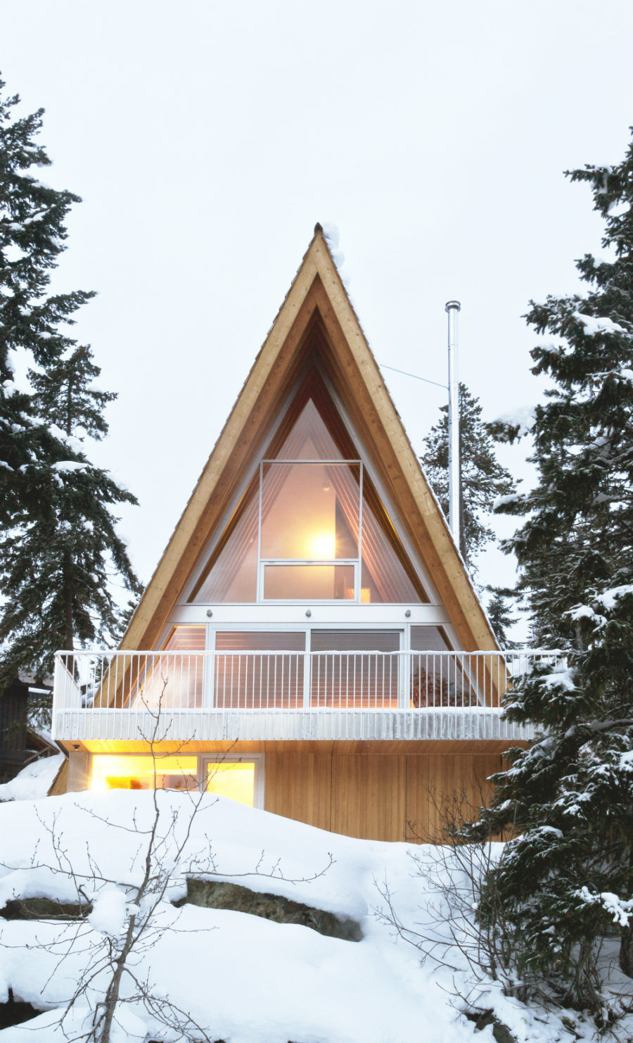 Whistler Cabin by Scott & Scott Architects