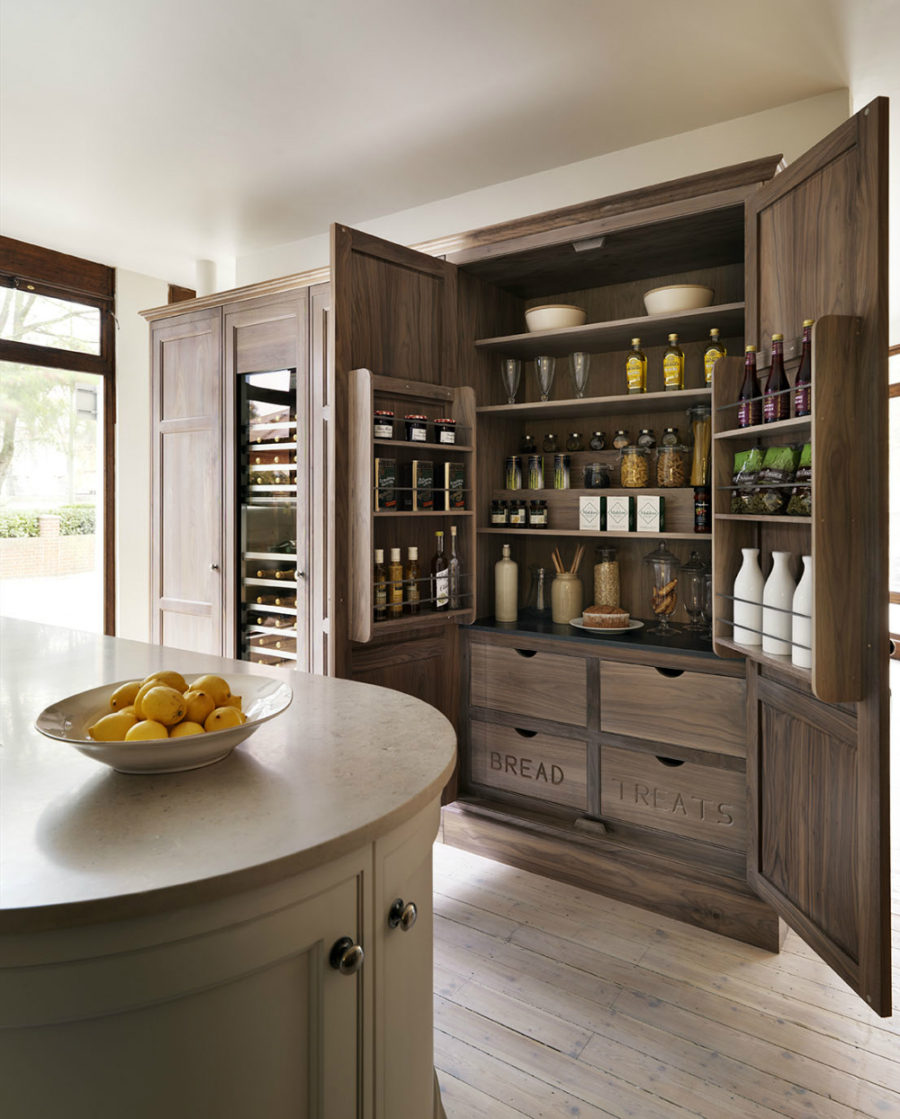 Modern pantry ideas that are stylish and practical - Kitchen pantry cabinet design plans ...