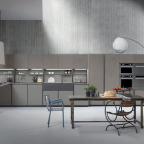 Linear Fitted Kitchen From Zampieri Is Style Personified
