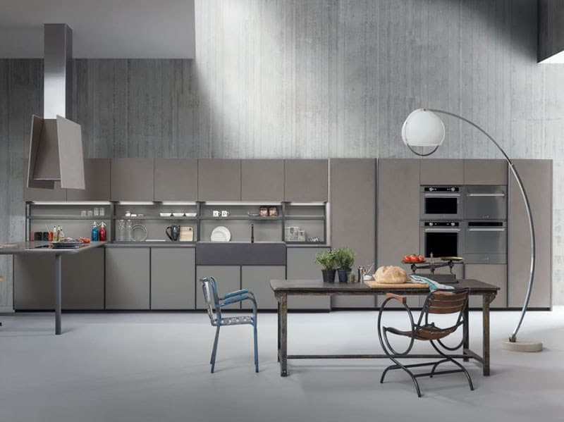 XP 01 Zampieri Cucine Linear Fitted Kitchen From Zampieri Is Style Personified