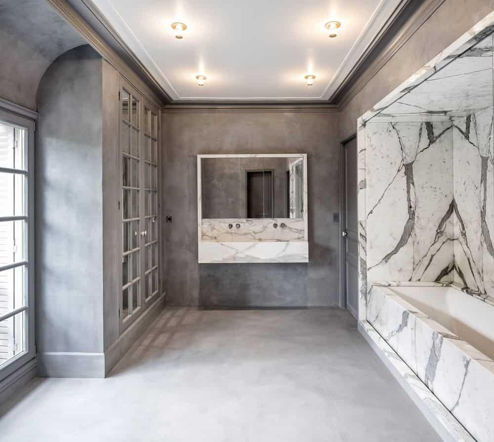 19th century house bathroom