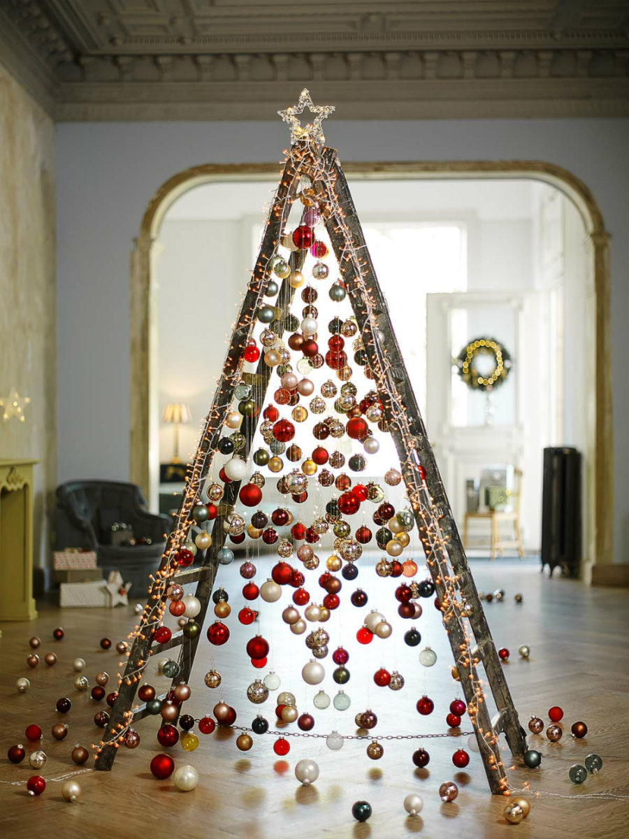 Modern christmas decor ideas are all style and chic for Weihnachtsdekoration modern