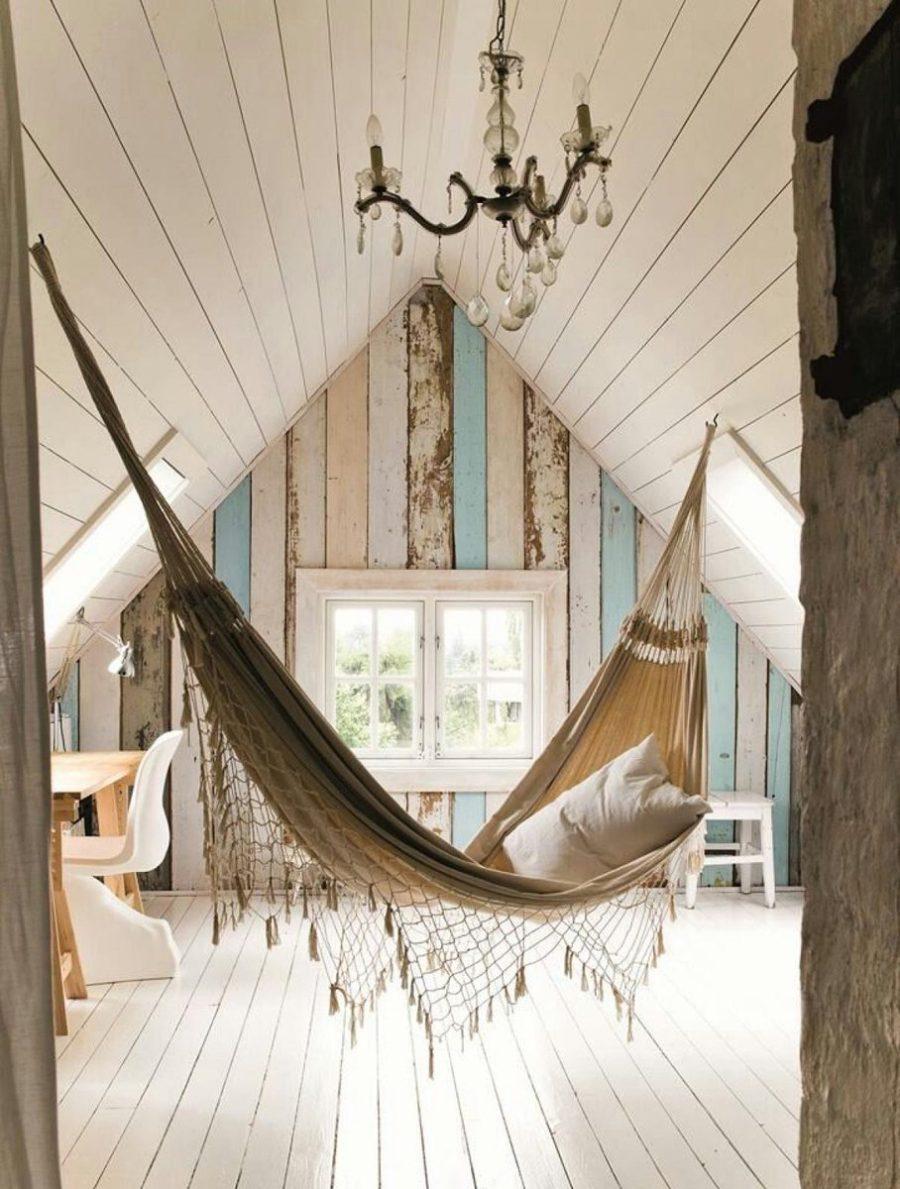 Attic hammock
