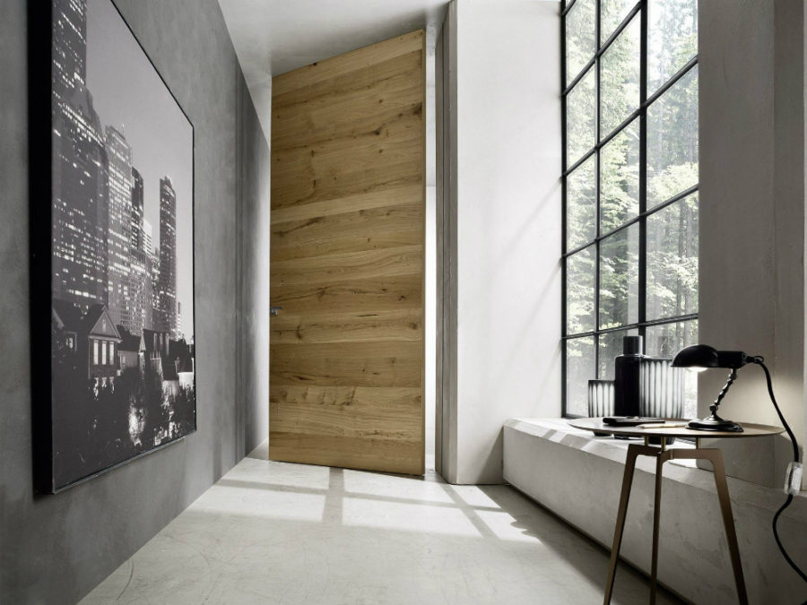 B-LICO pivot door by BLUINTERNI