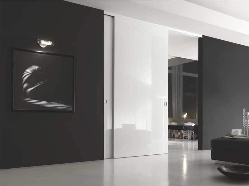 B-MOVE LUCE sliding door by Bluinterni