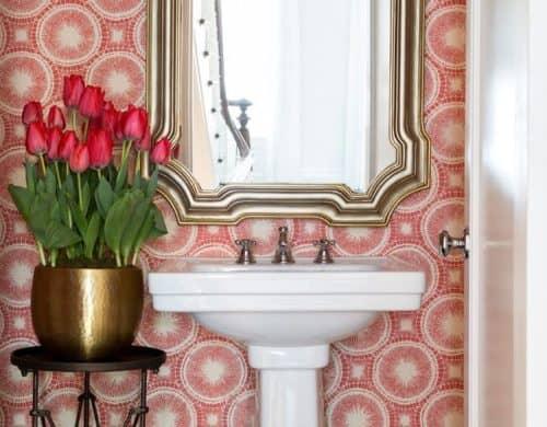 Lust Worthy Statement Bathroom Wallpapers