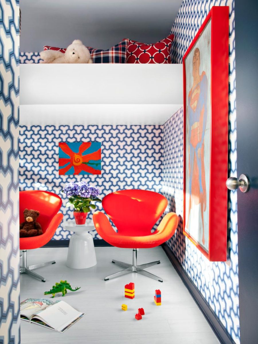 Bright boys room by Brian Patrick Flynn