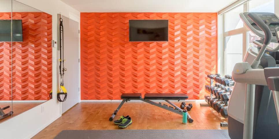Bright gym idea by Harmony Weihs