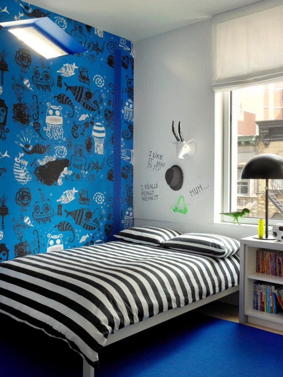 Bright kids room idea by Ghislaine Viñas Interior Design