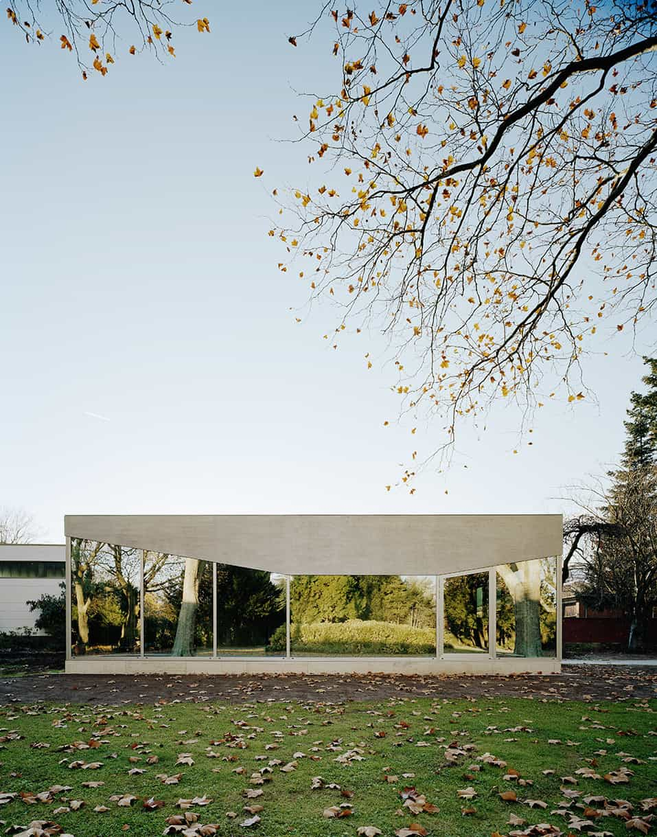 Cafe Pavilion by Martenson and Nagel Theissen Architecture