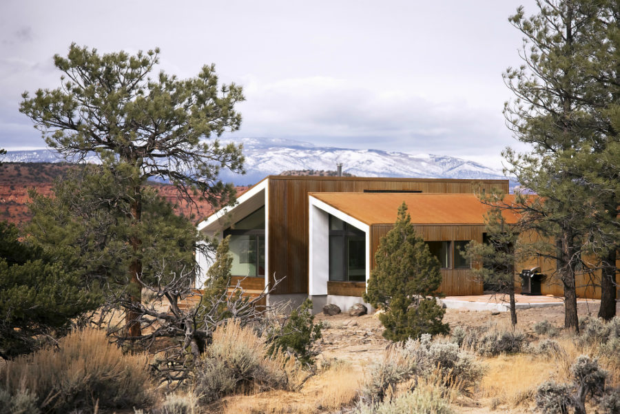 Capitol Reef Desert Dwelling by Imbue Design