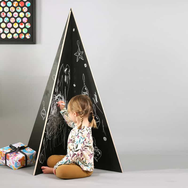Chalkboard Christmas Tree by Bombus