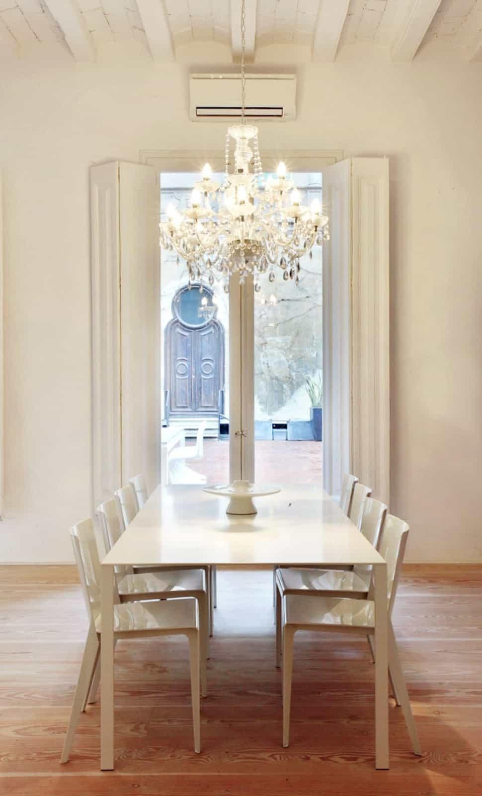 Cloister dining area