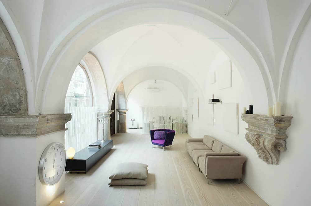 500-year-old cloister conversion by MINIM Design