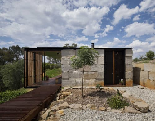 Archier Turns Discarded Concrete Blocks Into a Stylish Modern House