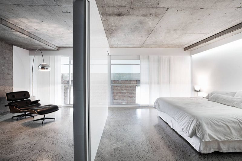 View in gallery Concrete flooring
