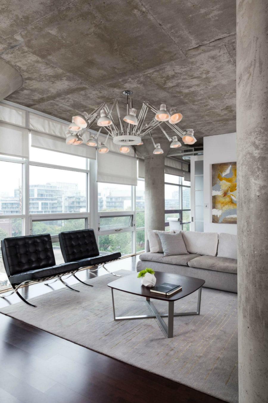 Concrete interior architecture
