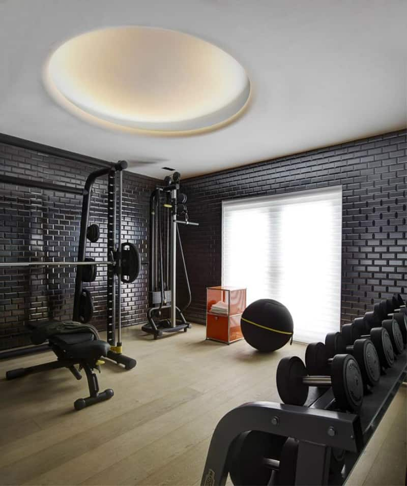 Cool Miami home gym