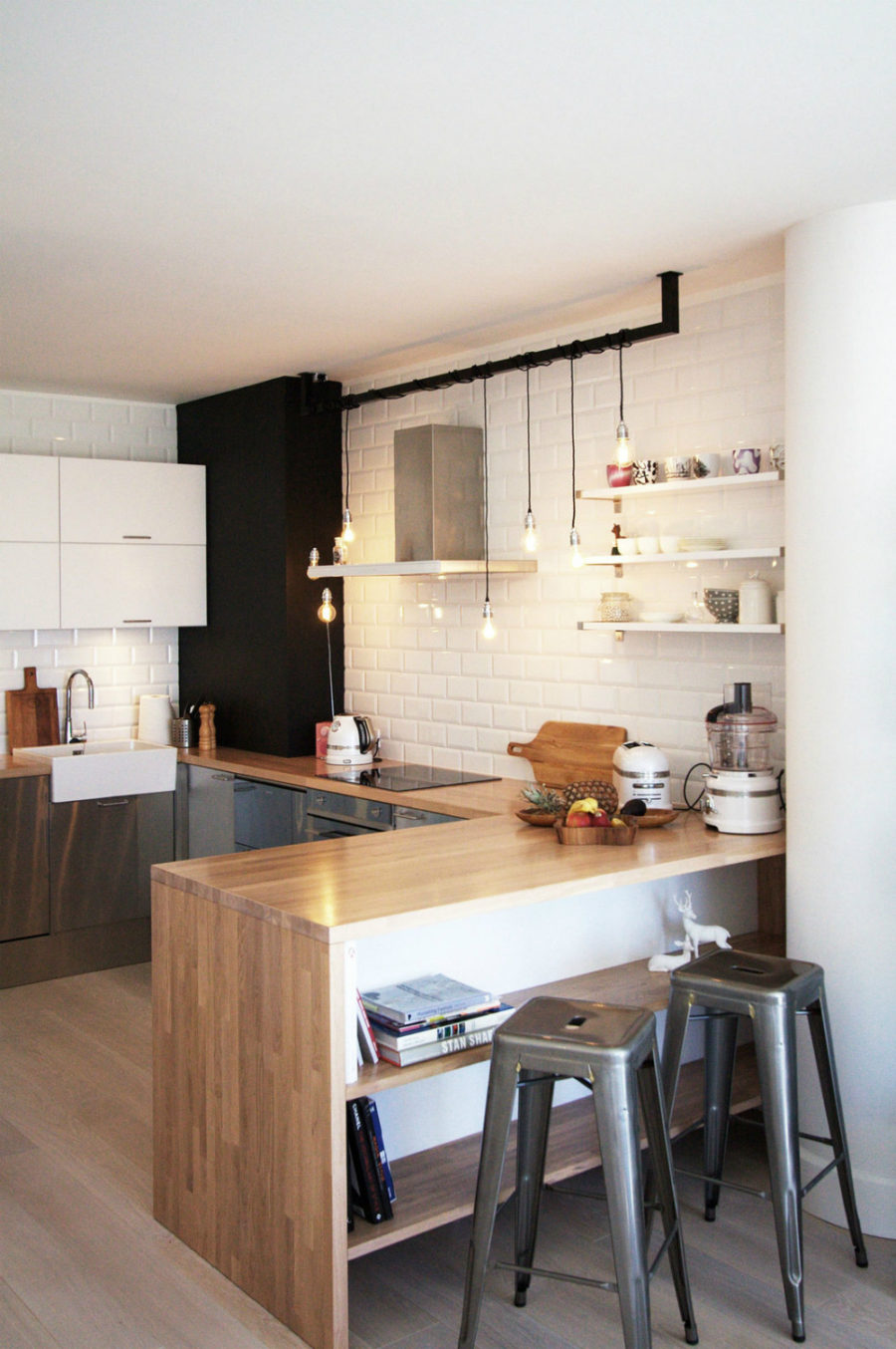 Cool kitchen peninsula