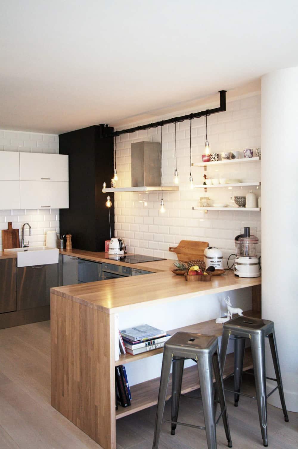 Cool kitchen peninsula