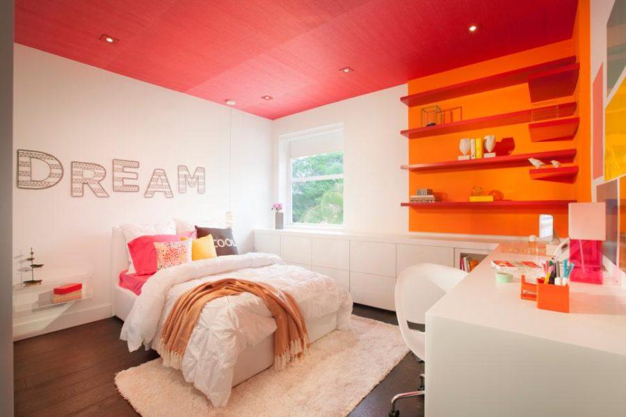 DKOR Interiors' bright kids room