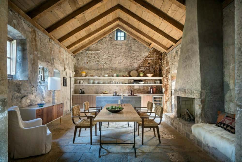 Dalmatian House dining room