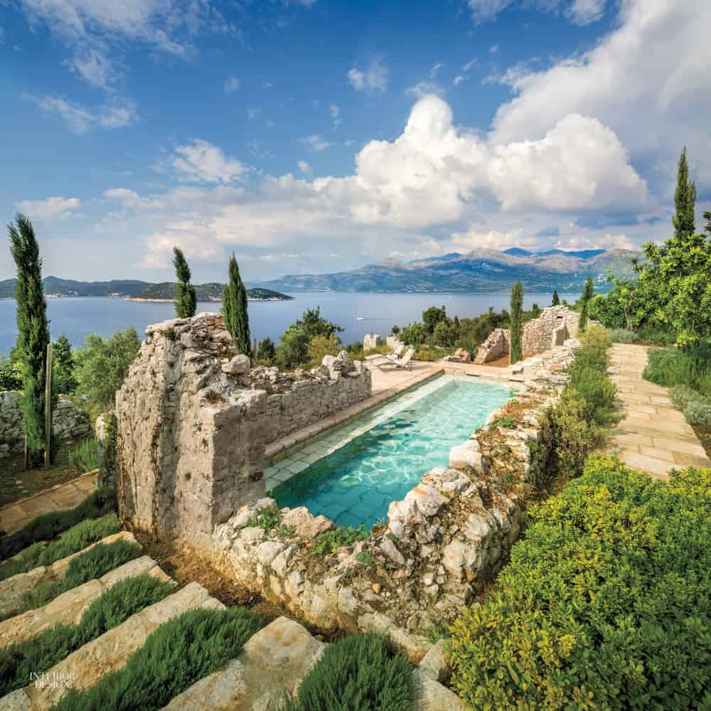Dalmatian House swimming pool