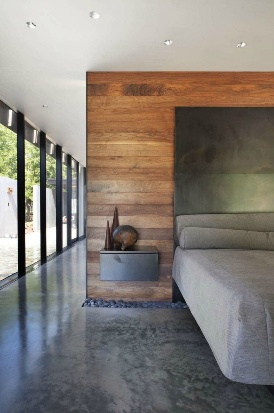 Concrete Interiors for Contemporary Homes