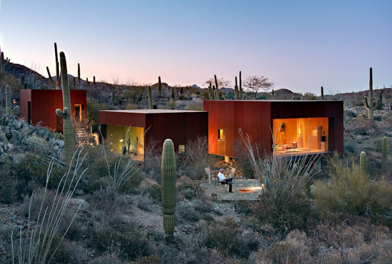 Desert Nomad House in Arizona by Rick Joy Architects