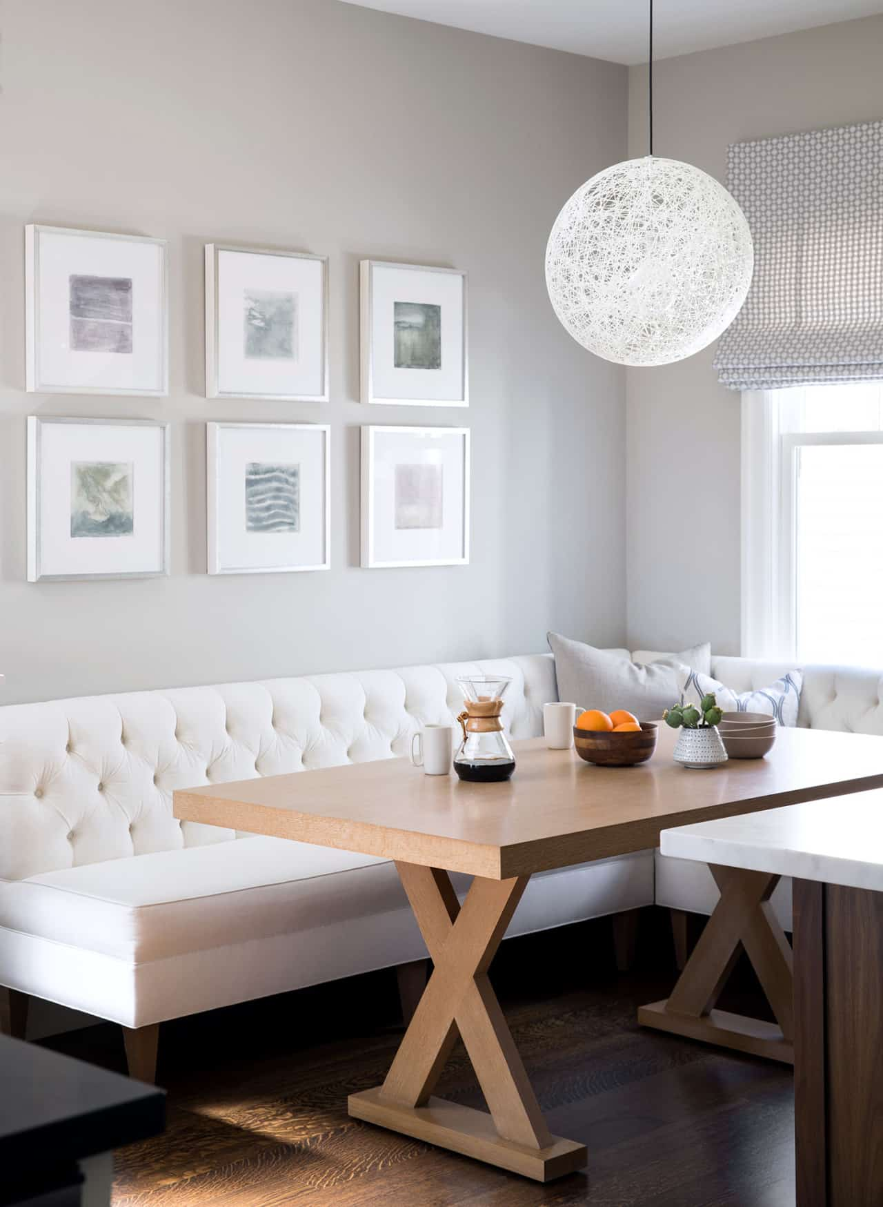 Elegant breakfast area