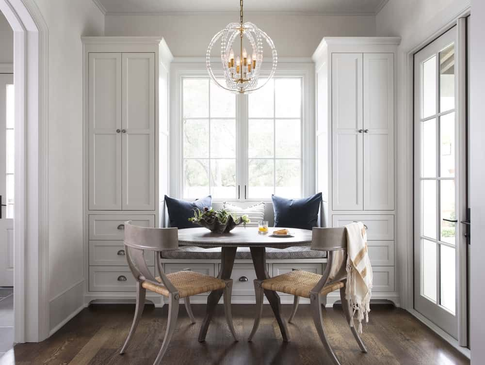 Elegant breakfast room